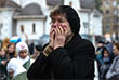 """В августе 2014 года в Крыму задержали участника захвата заложников на мюзикле """"Норд-Ост"""" Хасана Закаева. Он частично признал свою вину. На фото: Акция памяти, посвященной 13-й годовщине трагических событий в Театральном центре на Дубровке."""