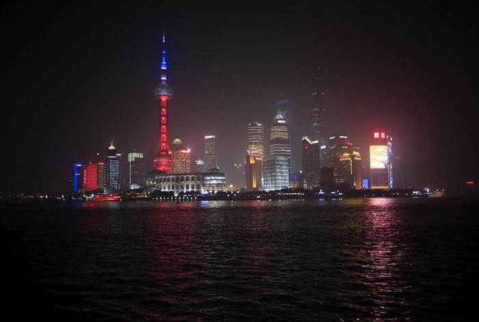 Телевизионная башня в Шанхае