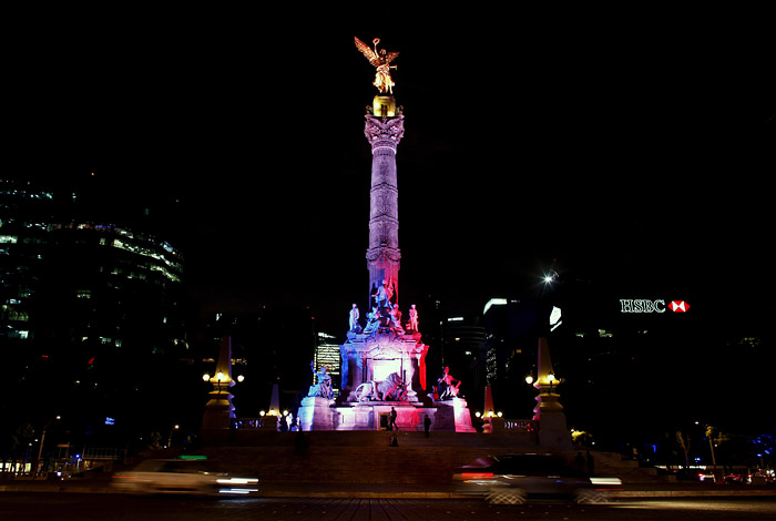Колонна Независимости в Мехико
