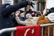 В Москве закидали камнями посольство Турции