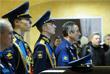 Военнослужащие на гражданской панихиде по Герою России в областном Центре культуры и народного творчества