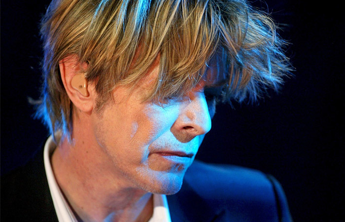 Выступление Дэвида Боуи на джазовом фестивале в швейцарском городе Монтре. Июль 2002 года.