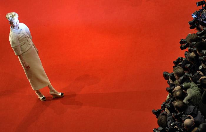 Британская актриса Тильда Суинтон
