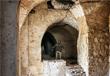 Бойцы сирийской армии внутри замка Фахр ад-Дина