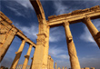 Часть Великой колоннады в Пальмире