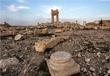 Развалины взорванного храма Баал-Шамин