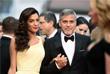 Американский актер Джордж Клуни с женой Амаль Аламуддин на Каннском кинофестивале