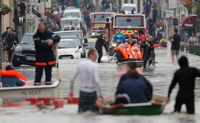 Наводнения во Франции