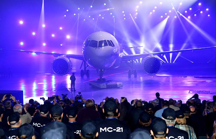 МС-21 - семейство самолетов нового поколения вместимостью от 130 до 211 пассажиров, ориентированное на самый большой сегмент мирового рынка пассажирских самолетов