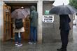 Избирательный участок на севере Лондона