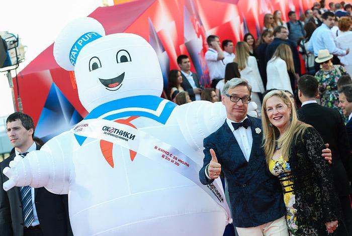 Режиссер Пол Фиг на церемонии открытия 38-го Московского международного кинофестиваля