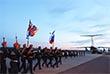 Спецрейс на взлетно-посадочной полосе аэродрома встречал глава МЧС России Владимир Пучков, руководство министерства, а также коллеги погибших, летчики и авиационные техники, друзья и близкие,