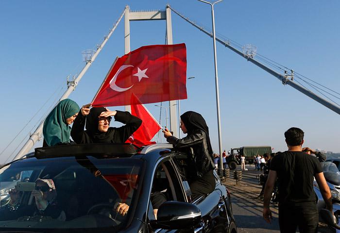 """Вы ждали лебединого озера?-Всё для вас! Стальные помидоры Эрдогана или """"взятие Бастилии"""" по-турецки"""