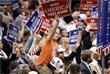 """Каждый день съезда проходил под новым лозунгом, который был перефразирован из главного слогана кампании Трампа - """"Сделать Америку вновь великой"""""""
