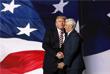 На второй день предвыборного съезда миллиардер Дональд Трамп официально стал кандидатом от Республиканской партии на пост президента США. Кроме того, губернатор Индианы Майк Пенс (справа) стал кандидатом в вице-президенты США.