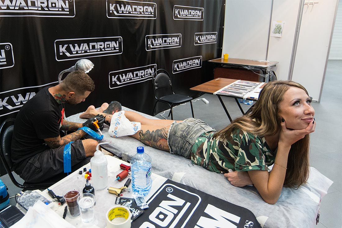Moscow Tattoo Week 2016 - фото 14 из 16