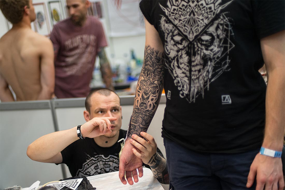 Moscow Tattoo Week 2016 - фото 5 из 16