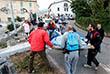 """""""Сейчас, когда рассвело, мы видим, что ситуация даже более ужасающая, чем мы опасались"""", - заявил мэр Аккумоли Стефано Петруччи."""