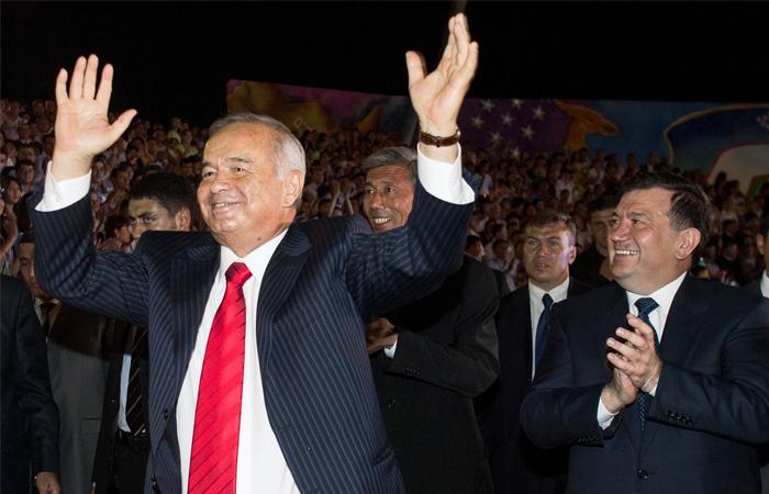 Ислам Каримов во время празднования Дня независимости в Ташкенте. 2007 год.
