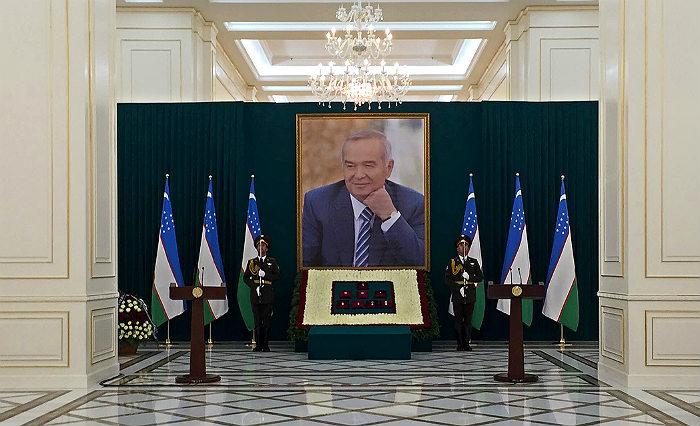Церемония прощания с президентом Узбекистана Исламом Каримовым прошла в его родном Самарканде