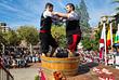 В испанской провинции Риоха проходит праздник Фиеста-де-Сан-Матео, после окончания которого начинается сбор урожая винограда в регионе