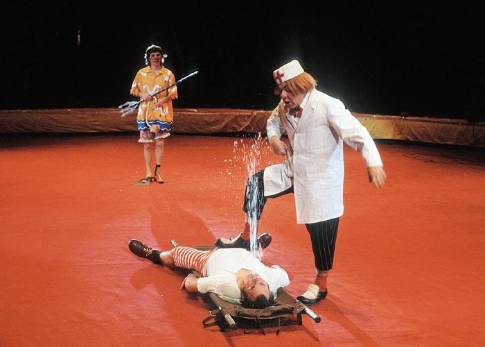 В столичном цирке. 1978 год.