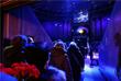 Во время прощания с артистом Олегом Поповым в Ростовском государственном цирке, где проходили его последние гастроли