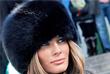 Мелания Трамп во время Недели моды Mercedes- Benz Fashion Week в Нью-Йорке. Февраль 2007 год.