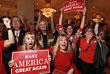 Радость и слезы выборов в США