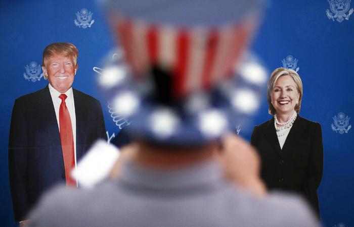 Клинтон обошла Трампа по количеству полученных голосов избирателей
