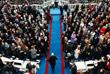Вице-президент США Майк Пенс прибывает на церемонию президентской инаугурации