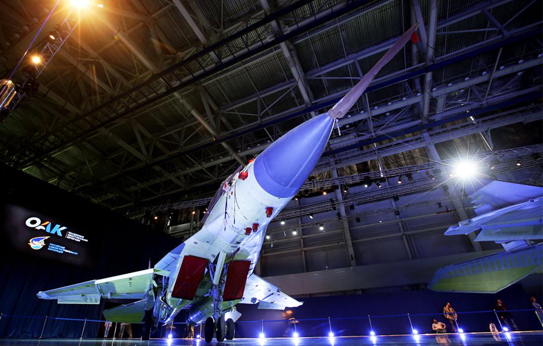 Презентация новейшего истребителя МиГ-35