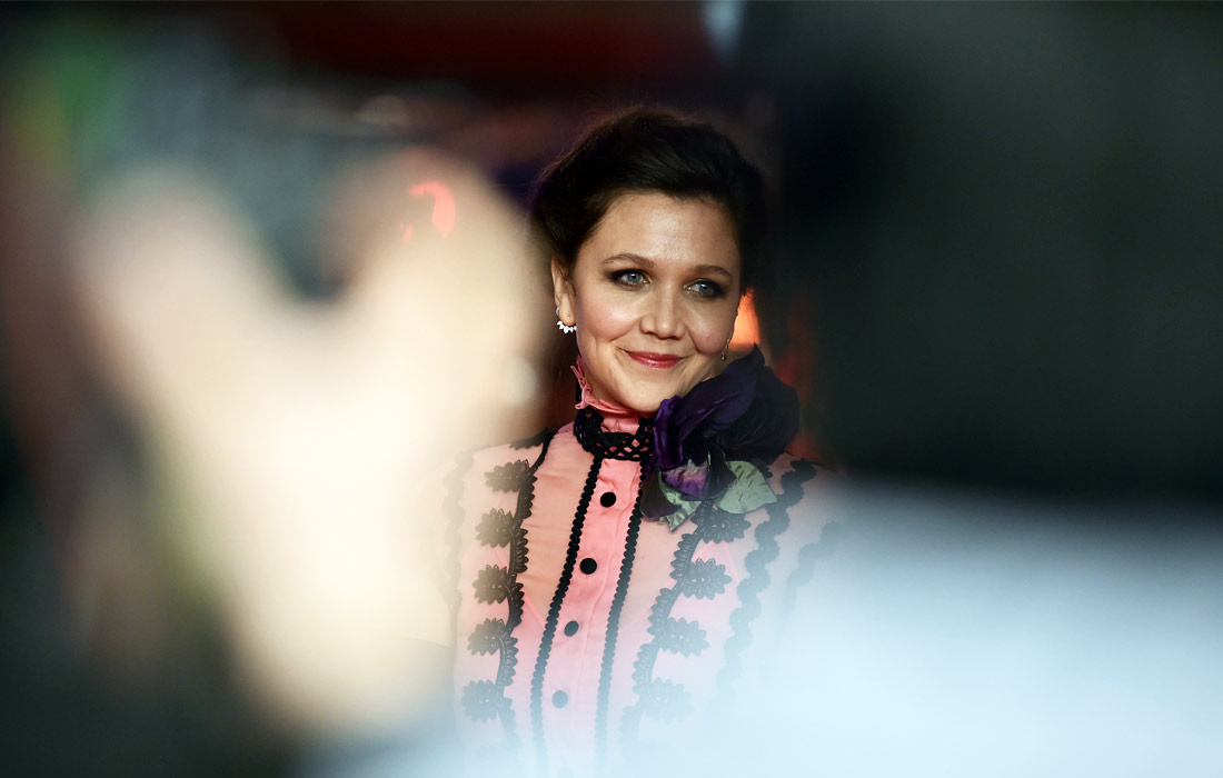 Американская актриса Мэгги Джилленхол на церемонии открытия 67-го Берлинского кинофестиваля