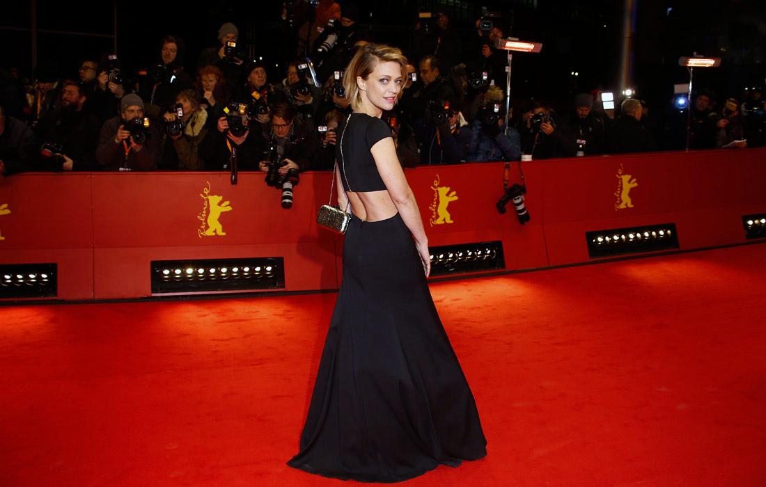 Немецкая актриса Хайке Макач во время церемонии открытия Берлинале