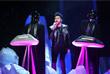 Выступление канадского певца The Weeknd