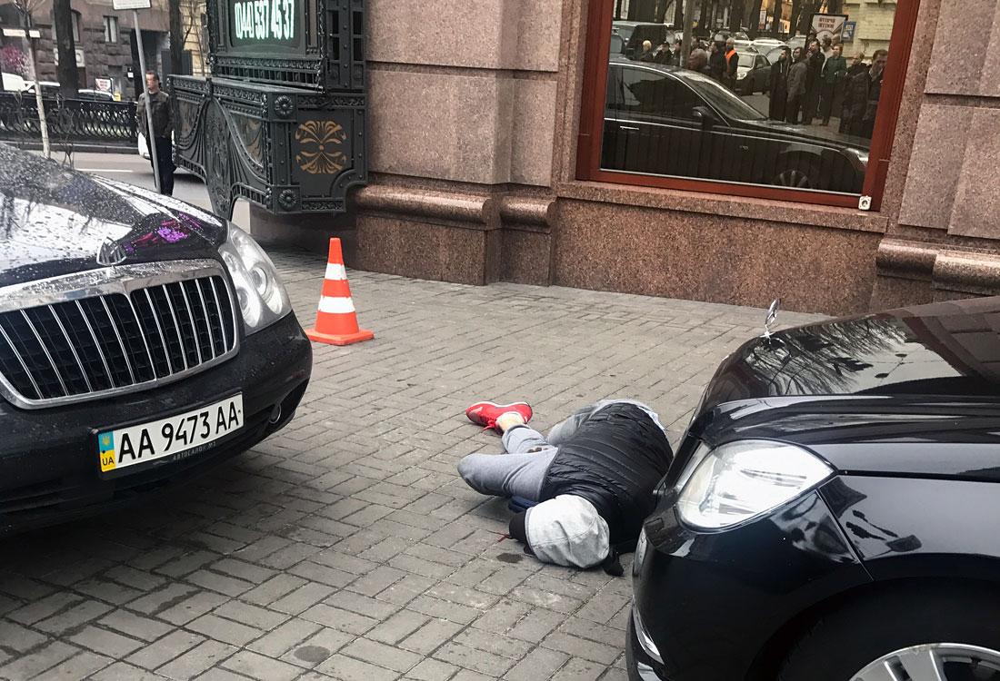 Стрелявший в Дениса Вороненкова