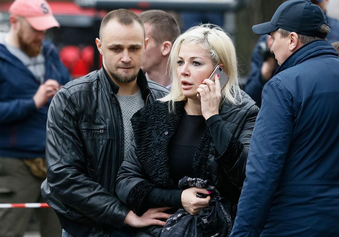 Вдова убитого экс-депутата Мария Максакова