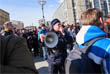 """Полицейские призывали """"граждан, собравшихся в этот прекрасный теплый день"""" на Пушкинской площади отправиться к разрешенному месту проведения митинга в Сокольниках"""