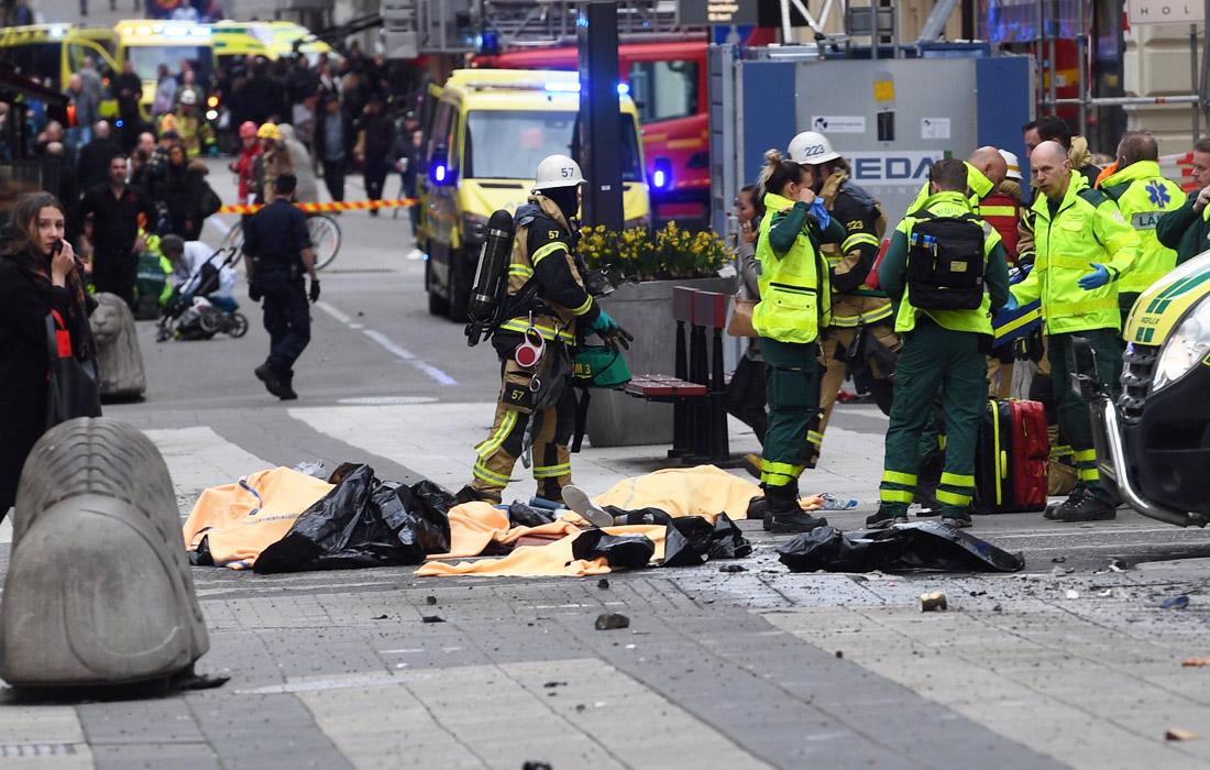 Теракт в центре Стокгольма