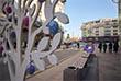 На улицах города уже знакомые и новые арт-объекты