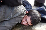 Задержание<noindex> <a  target=_blank   href=/index4.php ><big>организатора</big></a></noindex> теракта в Петербурге сняли на видео