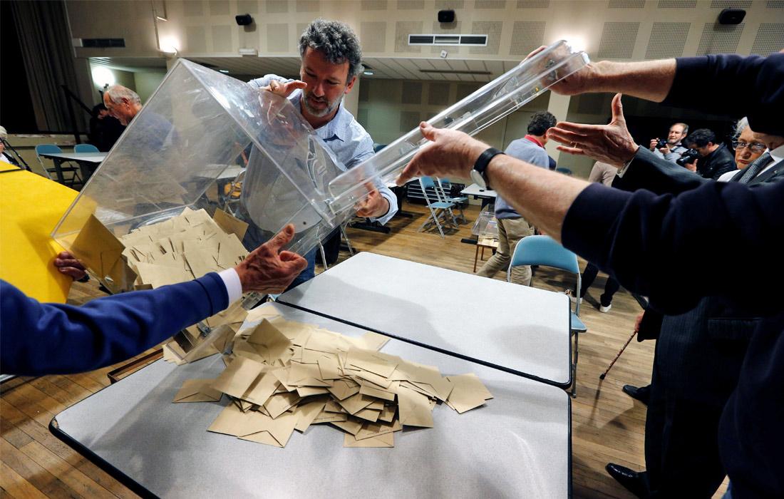 Явка избирателей в первом туре президентских выборов президента страны составила 78,69%. Публикация любой информации о предварительных результатах голосования была запрещена до закрытия последнего избирательного участка в стране. За нарушение этого правила предусматривался штраф в размере 75 тыс. евро.