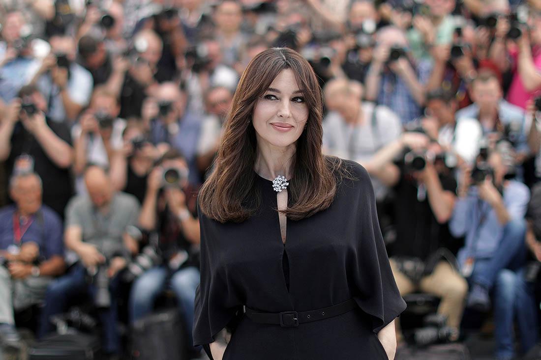 Моника Белуччи - ведущая кинофестиваля