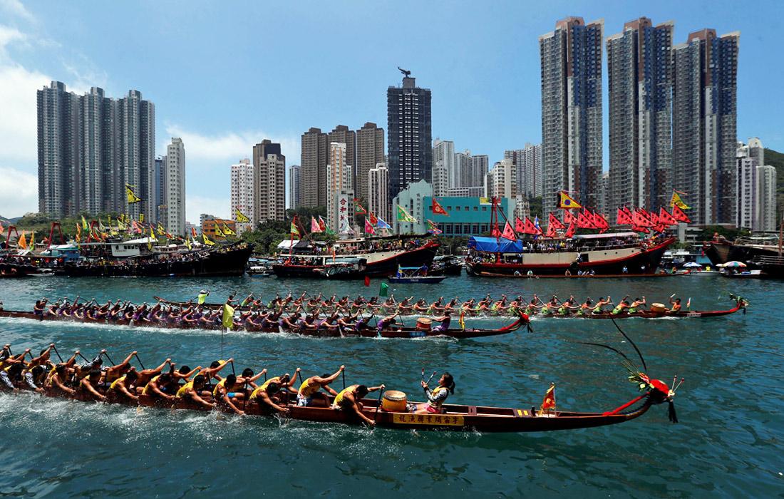 Китай день драконьих лодок когда