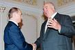 С Владимиром Путиным в Ново-Огарево. Октябрь, 2005 год.