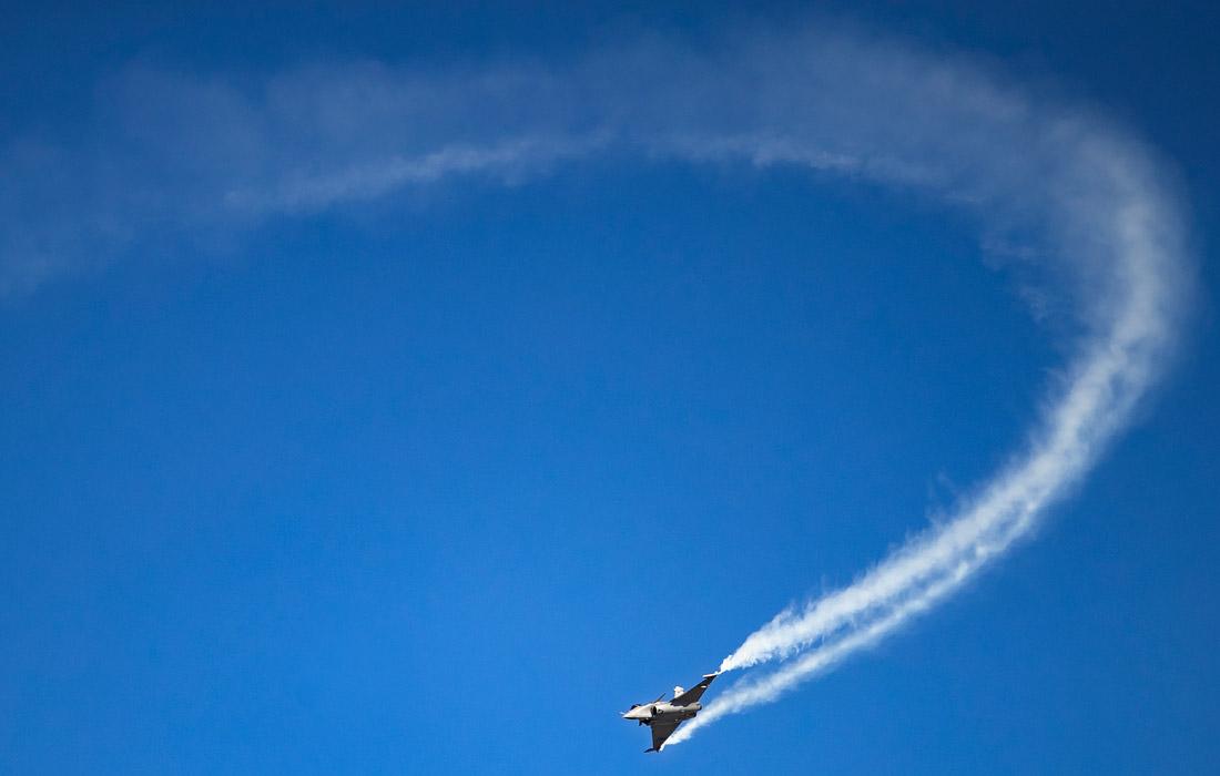 Французский многоцелевой истребитель четвертого поколения Dassault Rafale