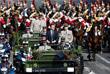 Президент Франции Эммануэль Макрон принимает участие в торжествах по случаю Дня взятия Бастилии