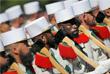 Военнослужащие из французского Иностранного легиона маршируют во время парада