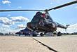 Вертолет Ми-2, оснащен двумя двигателями АИ-450-Мб мощностью по 430 л.с.