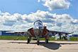Учебно-боевой Як-130, первый полностью новый (а не модернизированный) самолет, построенный в России после распада СССР
